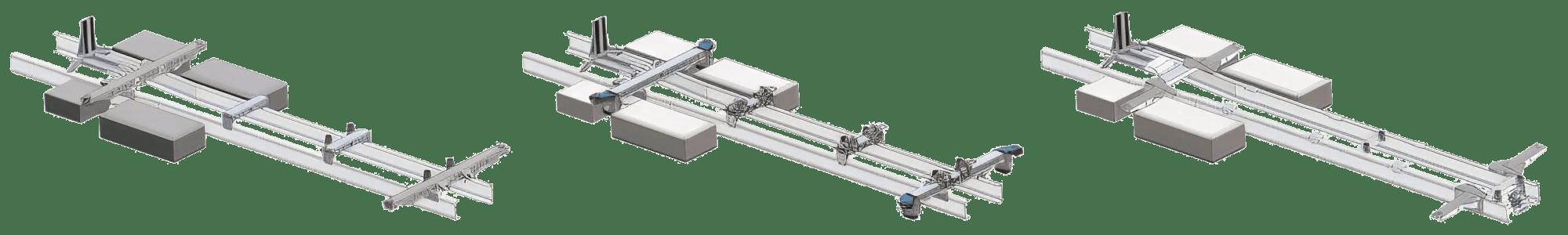 Ein BDF Wechselbrücken Rahmen